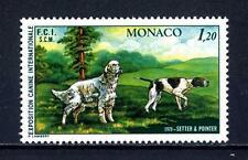 MONACO - 1979 - Esposizione canina internaz. di Montecarlo. Setter e Pointer MNH