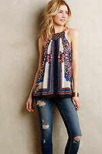 NIP Anthropologie Nala embroidered Tank by one.september NEW Size M medium