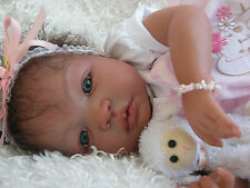 "Reborn Baby Shyann by Aleina Peterson; Gorgeous Biracial/Ethnic ""Addison"""