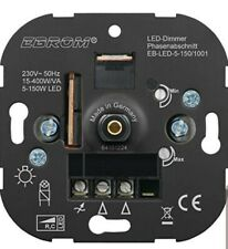 EBROM® flush-mounted LED dimmer rotary dimmer, phase control, LED 5-150 watts