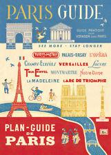 Cavallini & Co. Paris Guide Decorative Paper Sheet / Poster / Wrap