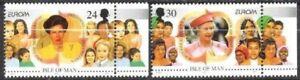 Insel Man Nr.674/75 ** Europa, Cept 1996, postfrisch