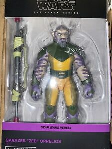 STAR WARS The Black Series Zeb Orrelios 6-Inch Action Figure IN STOCK