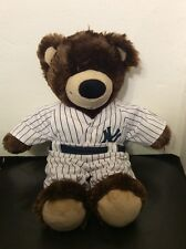 Brown Build A Bear New York Yankee Uniform Stuff Animal 2009 Stadium Inaugural