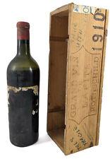 Chateau Lafite 1910 1er Grand Cru Classe Paulliac vintage wine in a gift box