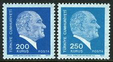 Turkey 2062-2063, MI 2429-2430, MNH. Kemal Ataturk, 1977