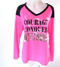 Lane Bryant Breast Cancer Cure Pink Awareness Livi Active T Shirt Plus Sz 14 16