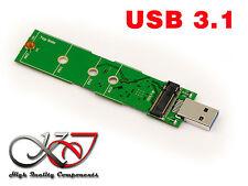 adaptador USB 3.1 (10G) M2 compacto - Para SSD M.2 NGFF SATA 2280 2260 2242