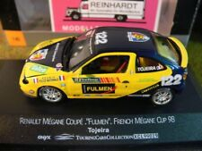 1/43 Onyx XCL99019 Renault Megane Coupe Fulmen French Megane Cup 98 Tojeira #122