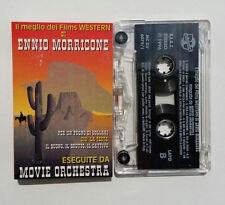 Musicassetta Ennio Morricone meglio FILM WESTERN Mc Musik Cassette Tape No! CD