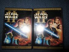 STAR WARS EPISODE 1 2 3 I II III FULL SCREEN 6 DISC DVD SET THX Collectors