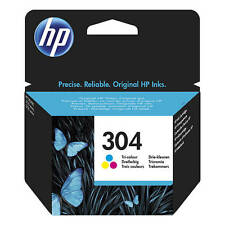 ORIGINAL HP 304 TRICOLOR TINTA Cartucho para HP Deskjet 3720/n9k05ae