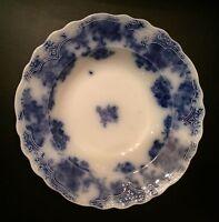 Lancaster Flow Blue Flat Rim Soup Bowl
