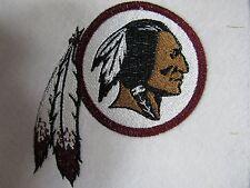 """NFL Washington RedskinLgo 5"""" X 4.5"""" Sew/Iron Patch ~ Burgundy"""