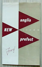 FORD ANGLIA & PREFECT Car Sales Brochure For 1954 #M2128/1053