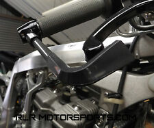 motorcycle Brake Protector Guard in Black Carbon look, race or track day