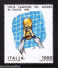 W175  ITALIA 1982 CAMPIONE DEL MONDO DI CALCIO        MNH**