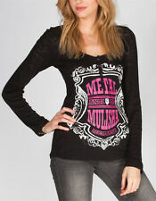 Metal Mulisha Score Womens Thermal Henley Size X-Large BNWT