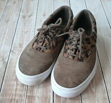 Vans Ultracush Brown Low Top Lace Up Sneakers Shoes Men's Size 11