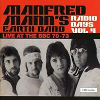 Manfred Mann's Earth Band - Radio Days Vol. 4 - Live At The BBC 70-73 (NEW 2CD)