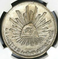 1837 NGC VF Det Philippines Counterstamp Mexico 1834-Zs 8 Reales Coin (19102201C