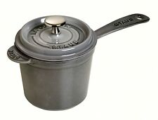STAUB soup pot 14 cm gray 40509-706 Tracking number 61-6535-88 NEW