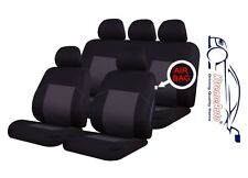 9 PCE Woven Traditional Design Full Set of CAR Seat Covers Dacia Logan, Sandero