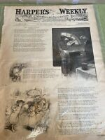 HARPER'S WEEKLY Journal OF CIVILIZATION MAGAZINE, Sept 17, 1881 GARFIELD