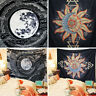 Sun Star Moon Tapestry Mandala Wall Hanging Tapestries Bedspread Home Room Decor