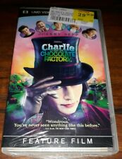New Sony PSP UMD Video Charlie and the Chocolate Factory Sealed