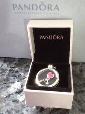 Pandora Collana Grande Medaglione A GALLEGGIANTE CON AMORE SENTIMENTI Petite intera di