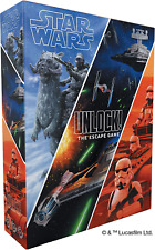 Star Wars UNLOCK! Board / Card Game Asmodee Space Cowboys SHIPS 11/6!
