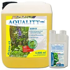 (16,00�'�/l) AQUALITY Algen-EX gegen alle Algen im Aquarium Algenvernichter