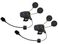 Sena SMH5-FM Bluetooth Stereo Dual Open Face Helmet 2-Headsets/Communicator
