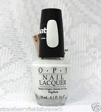 OPI Nail Polish Color Alpine Snow Matte ML00 .5oz/15mL