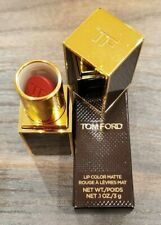 Tom Ford Lip Color Matte Rouge À Lèvres Mat #38 Night Porter- Size 0.1 Oz. 3 g