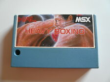 Msx game-heavy boxing-tbe