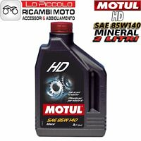 Olio Motul Minerale per Cambio e Trasmissione HD 85W140 85W-140 - 2 litri lt
