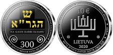 "Lithuania 10 euro 2020 ""Vilna Gaon (Elijah ben Solomon Zalman)"" Silver Ag PROOF"