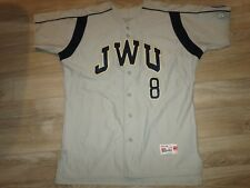 Johnson & Wales University Wildcats Baseball Team Ncaa Game Used Worn Jersey 44