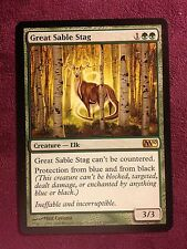 Great Stable Stag   VO   -  MTG Magic (EX)