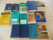 Bücherpaket 14 Bücher Wörterbücher, Lexika, Fachbücher