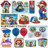 Nintendo Mario Birthday Party Decorations Balloon Tableware