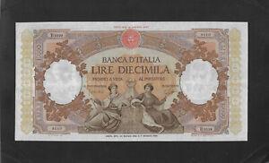 VF+ 10000 lire 1962 ITALY