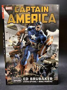 Captain America by Ed Brubaker Marvel Hardcover Omnibus - 1st PRINT, NEAR MINT!