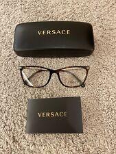 Versace Havana And Gold Eyeglasses - Model 3274 B - RRP £199 - NEW/CASE