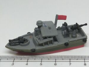 """MILITARY MICRO MACHINES Naval """"Pibber"""" Vietnam Era Boat River Rat Lot#7"""
