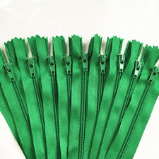 10pcs Nylon Coil Zippers Tailor Sewer Craft(8-24 Inch)Crafter's FGDQRS (U PICK)
