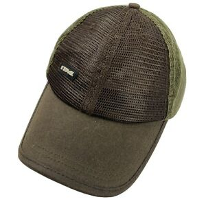 Teva Brown Green Ball Cap Hat Adjustable Baseball