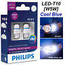 Philips W5W T10 Xtreme Ultinon LED 8000K 360 ° Car 12V Cool Blue 127998000KX2